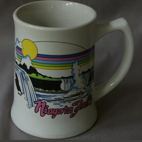 Vintage Other - Vintage Niagara Falls Mug 1980's 1990's White